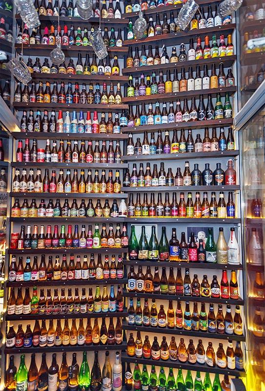 Наша коллекция пива. Автор фото: Павел Егоров