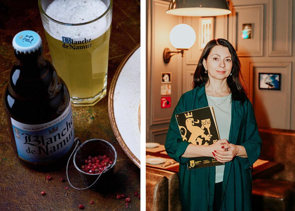 Бельгийская брассери Brasserie 0.33. Бельгийское пиво. Москва. Горячие закуски.